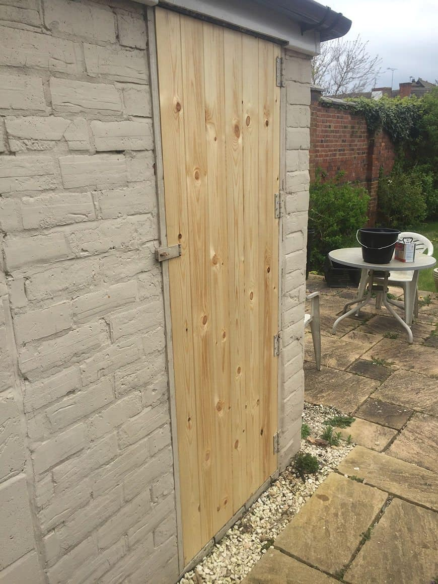 Shed Door Repair