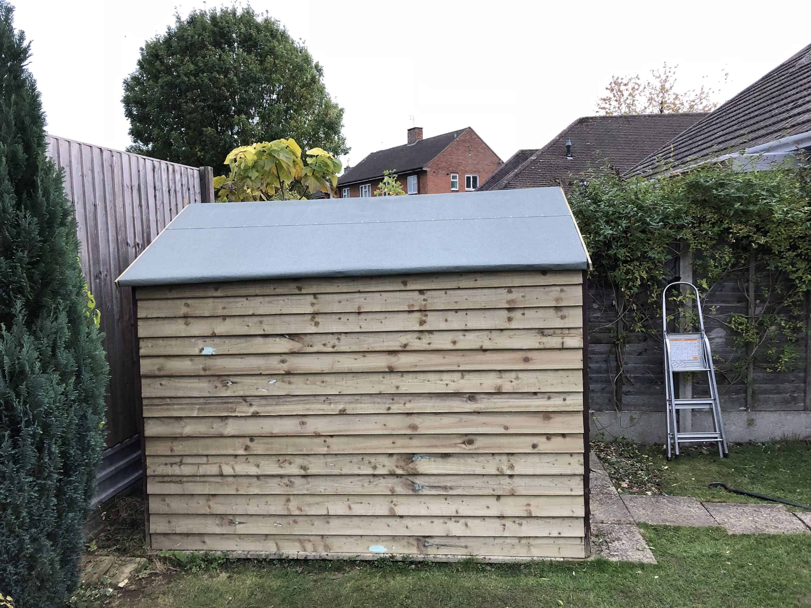 Shed Repairs in Leamington