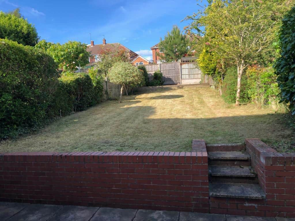 Overgrown Garden Tamed in Leamington