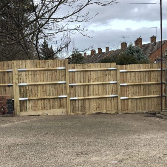 New Fence In Leamington After 1