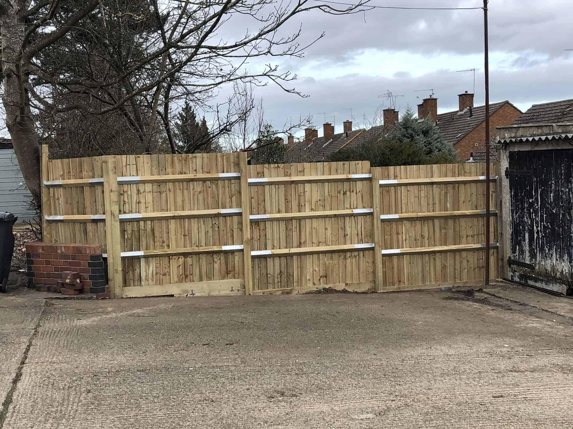 Brand New Fence in Leamington