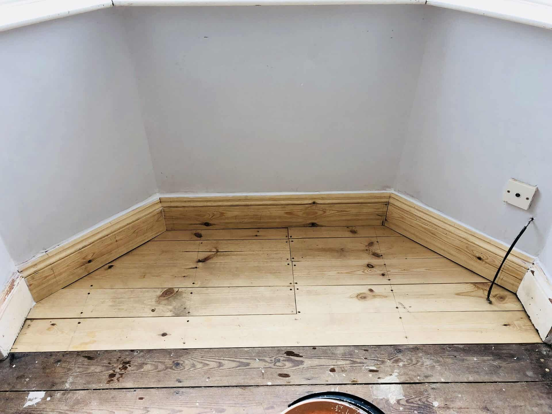New Skirting and Floor Boards