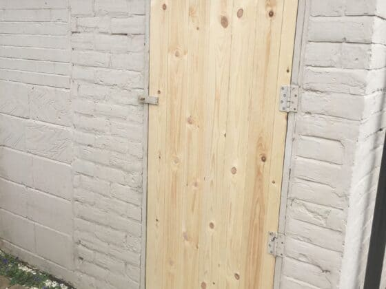 Outhouse New Door 1