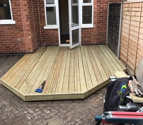 New Decking After