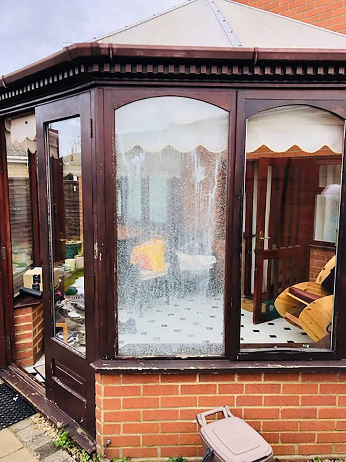 Conservatory Window Before