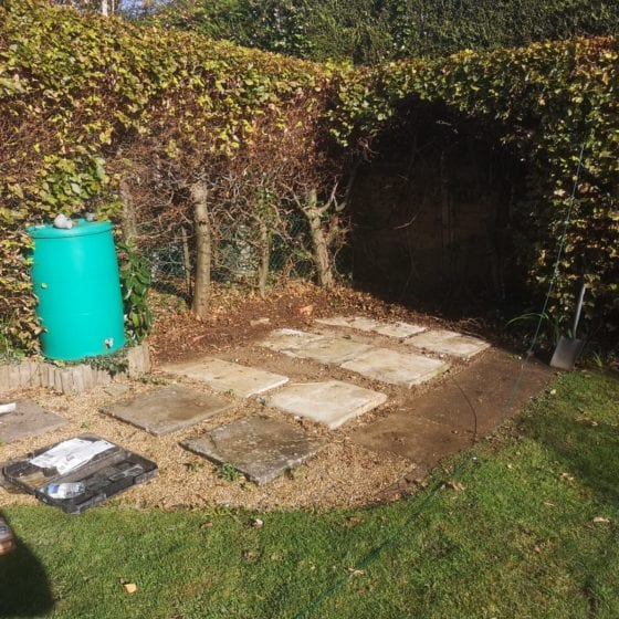 Shed Removed